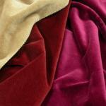 Buy cheap 100% cotton velvet fabric for garment from wholesalers