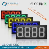 Buy cheap best price for IP65 waterproof ultra-thin cabinet 88.88LED Gas Price Changer sign from wholesalers