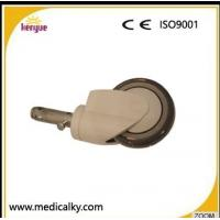 Buy cheap Industrial Hospital Bed Casters , TPR PP Core 5 Inch Caster Wheels For Hospital Beds from wholesalers