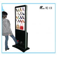 Buy cheap Stand Alone LCD Digital Signage Advertising Media Player With Shoe Polisher from wholesalers