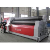 Buy cheap Heavy Duty Aluminium Sheet Rolling Machine , Hydraulic Roll Bending Machine 37KW from wholesalers