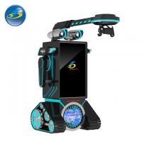 Buy cheap Robot Type Automatic VR Game Machine With 50'' Touch Screen Console Display from wholesalers
