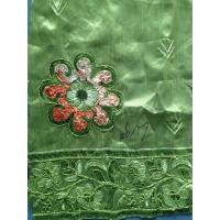 Buy cheap Kintted Sequin Embroidered Fabric For party , Embroidered Chiffon Fabric from wholesalers