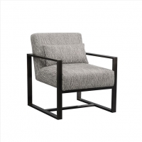 Buy cheap Black Stainless Steel Occasional Luxury Living Room Chairs from wholesalers