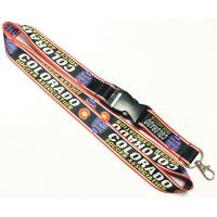 Buy cheap Sports Charity Activities Dye Sublimation Lanyards Safety Buckle Metal Hook from wholesalers