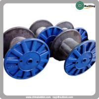 Buy cheap Metal cable puller wire drum bobbin custom mild steel wire spool cable steel wire drum from wholesalers