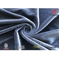 Buy cheap Plain Colour 94 Polyester 6 Spandex Fabric , Elastic Knitting Velvet Jersey Fabric from wholesalers
