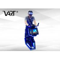 Buy cheap 1 Player Virtual Reality Equipment , 9D VR Electric Bike For Gym from wholesalers