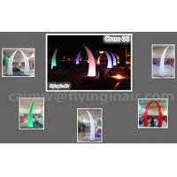 Hot 3m Inflatable Light Cone For Party Supplies And Wedding Decoration