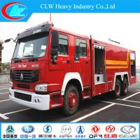 Buy cheap Sinotruck 6X4 Water/Foam Fire Fighting Truck (CLW1258) from wholesalers