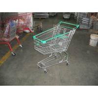 ASTM certified Grocery Shopping Carts with baby seat , 4x4'' wheels