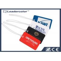 Buy cheap High Security PVC Luggage ID Card , Luggage Tag Card for Traveling from wholesalers