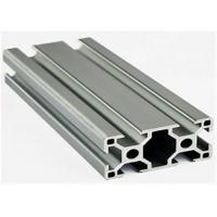 Buy cheap Construction Stock Aluminum Extrusion Profiles , 6005a Extruded Aluminium Channel from wholesalers