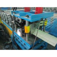 Buy cheap Color Coated Metal Cold Roll Forming Machine , Hydraulic Cutting Roof Tile Making Machine product
