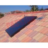 Buy cheap Closed Circulation Flat Plate Solar Collector With Copper Connection Accessories from wholesalers