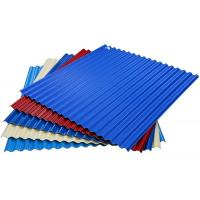 Buy cheap color coated steel roof sheets price per sheet, Thin Corrugated Steel Sheet from wholesalers