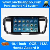 Buy cheap Ouchuangbo Honda Accord 9 android 4.2 multimedia kit with bluetooth gps navigation ipod usb mp3 player from wholesalers
