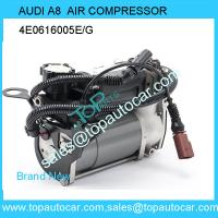 Buy cheap Air Suspension Compressor FOR Front-Audi A8 D3 4E Diesel 10/12 4E0 616 005 E from wholesalers