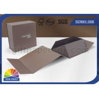 Buy cheap Logo Printing Art Paper Gift / Watch Packaging Boxes , Foldable Packaging Paper Box from wholesalers
