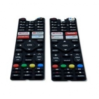 Buy cheap TV Remote Control 20 to 80 Shore A Custom Silicone Rubber Keypads from wholesalers