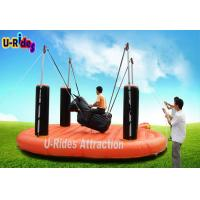 Buy cheap 1 Person Bungee Shape Mechanical Rodeo Bull Automatic Interesting For Adult from wholesalers