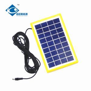 China 9V 3W solar panel photovoltaic for solar power system ZW-3W-9V-1 Glass Laminated Solar Panel on sale