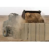 Buy cheap Military Welded Hesco Bastion Barrier Wall , Gabion Hesco Barriers Geotextile Lined from wholesalers