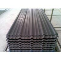 Buy cheap Colorful Bitumen Corrugated Steel Sheets , Insulated Roofing Panels from wholesalers