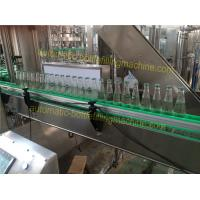 Buy cheap Food Safety Hygiene Glass Bottle Soda Machine 3.75KW Power Hot Fill Bottling Equipment product