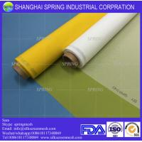 Buy cheap White/Yellow 43T-80um width 165cm custome silk screen printing /Screen Printing Mesh from wholesalers
