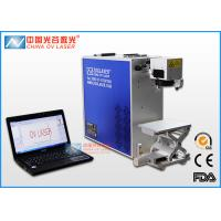 Buy cheap 30W / 50W Hand Engraving Machine For Metal  Data Laser Matrix Printer from wholesalers