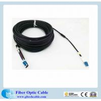Buy cheap Armored fiber optic cable with LC SC ST FT connector from wholesalers