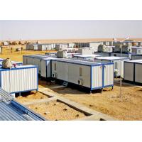 Buy cheap Waterproof Conex Box Homes PVC Frame Rockwool Environmental Friendly from wholesalers