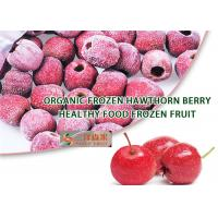 Buy cheap Good Taste Frozen Organic Hawthorn Berry Fruit Diameter 21mm To 28mm from wholesalers