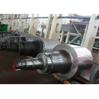 Buy cheap ASTM Forged Steel Shaft Roller , Hot Roll / Cold Rolled Shaft Forging product