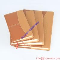 Buy cheap Custom A4 A5 A6 PU leather notebook,personalized gift leather book from wholesalers