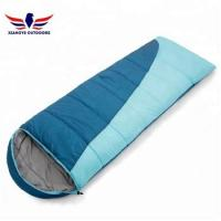 Buy cheap Car Camping Packable Backpacking Envelope Sleeping Bag Blue and Orange from wholesalers