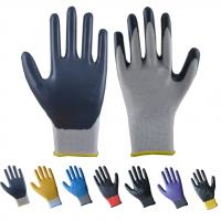 Buy cheap 13guage nitrile coated gloves from wholesalers