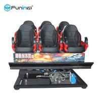 Buy cheap Customized Truck Mobile 7D 5D Cinema Equipment For Theme Park  8 / 9 / 12 Players from wholesalers