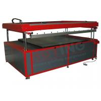 Buy cheap Large format electrical screen printing machine from wholesalers
