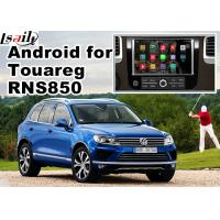 Buy cheap Volkswagen Touareg RNS 850 GPS Android Navigation System For Car 8 Inch Youtube Waze Wifi from wholesalers