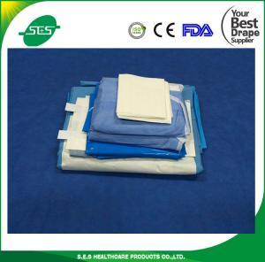 CE ISO FDA marked general disposable laparoscopy drape set