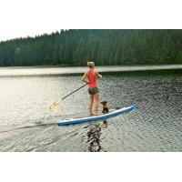 Buy cheap Delux Inflatable SUP Board High Pressure Double Wall Drop Stitch Material product
