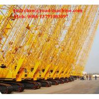 Buy cheap XCMG 50 Tons Small Crawler Crane Xgc55 With Hammer , Max. Rated Lifting Capacity product