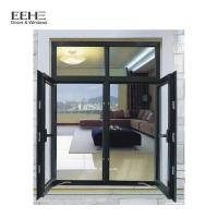 Buy cheap Double Glazing Glass Aluminum Casement Windows For Commercial Office Building from wholesalers