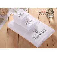 Buy cheap Solid Color Large Bath Towels Hotel Collection For Women / Men Easy Wash product