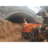 Buy cheap PLC Control Robotic Shotcrete Machine Long - Reach Spray Boom Poweful Pumping from wholesalers