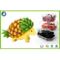 Buy cheap Biodegradable Plastic Blister Packaging As Fruit Container / Fruit Tray from wholesalers