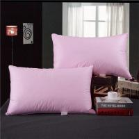 Buy cheap Hotel 80% Goose Down Pillow And Pink & White Color With Size 55*80cm from wholesalers