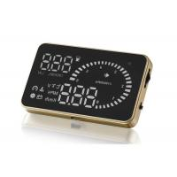 Buy cheap Portable Small Heads Up Dash Display , Over Speed Alarm Aftermarket Hud Display from wholesalers